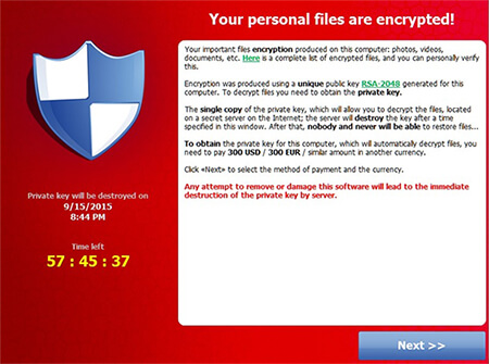 Pedido de Resgate por Ransomware 2